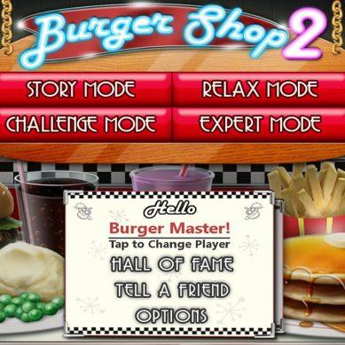 Test de Burger Shop 2