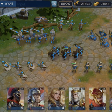 Empires The Rise : Un RTS en temps réel pour mobile