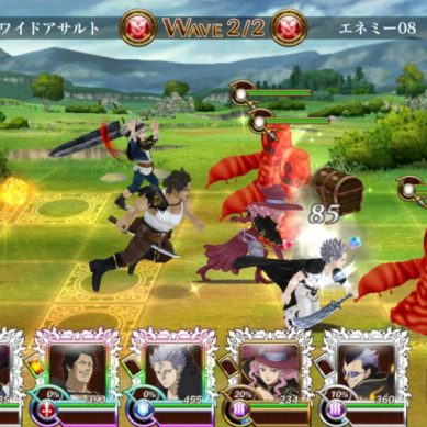Black Clover : Une adaptation du manga en jeu mobile