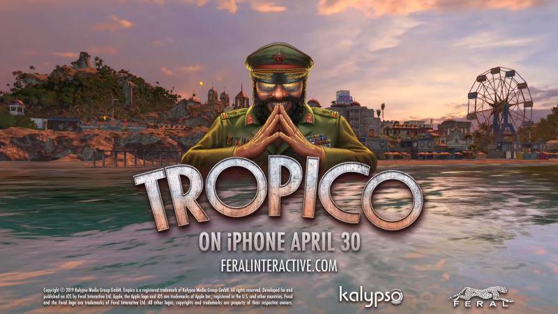 Tropico arrive sur Iphone le 30 avril