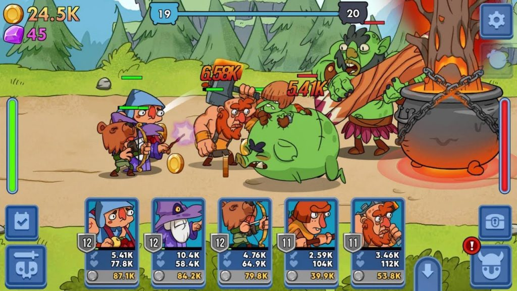 jeux android idle