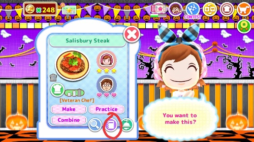 tampon cooking mama