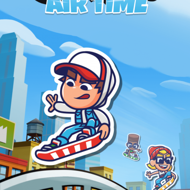 Sybo Games lance sa célèbre franchise « Subway Surfers Airtime » sur Snap Games