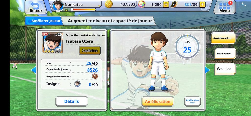 guide Captain Tsubasa Zero