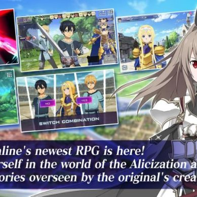 Sword Art Online Alicization Rising Steel : Maintenant sur IOS et Android